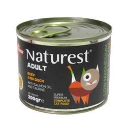 Mokra karma Naturest dla kotów dorosłych, zwołowiną ikaczką
