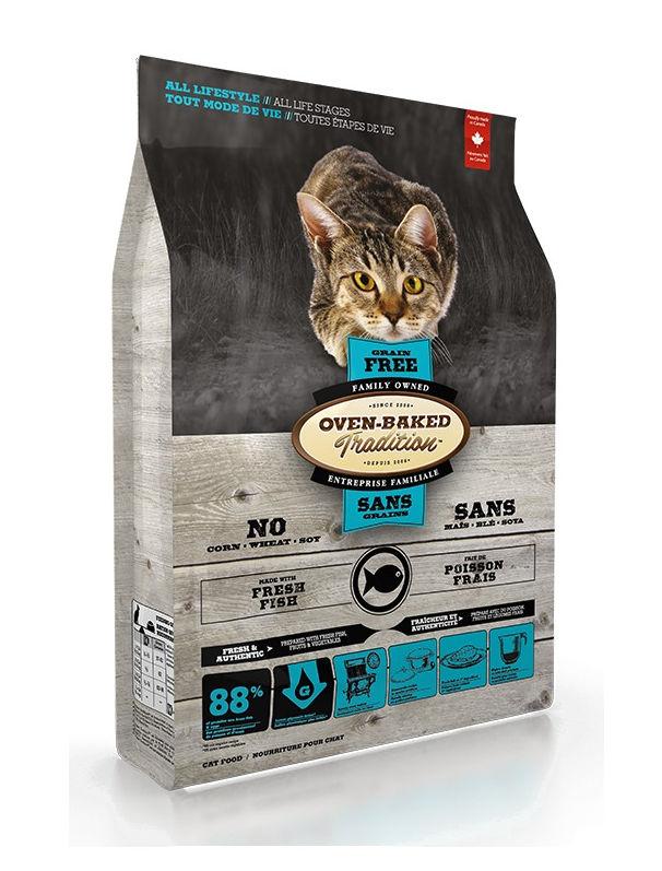 Sucha karma Oven-Baked Tradition dla kotów, zrybą
