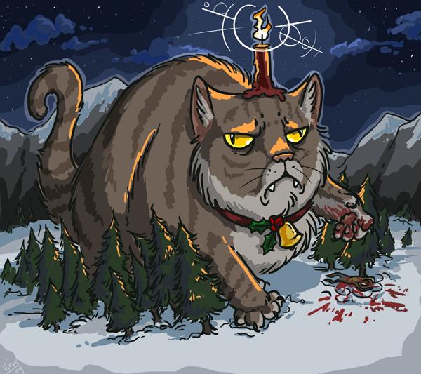 Kot Bożego Narodzenia