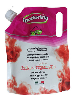 Inodorina Magic Home Cedro & Bergamotto - Płyn do mycia o zapachu cedru i bergamotki