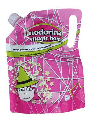 Inodorina Magic Home Legno di Sandalo - Płyn domycia ozapachu drzewa sandałowego