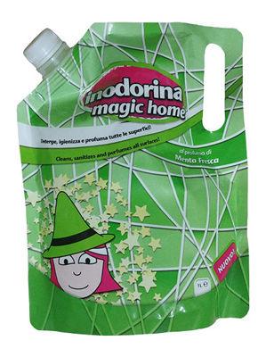 Inodorina Magic Home Menta fresca - Płyn domycia ozapachu świeżej mięty