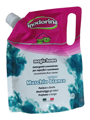 Inodorina Magic Home Muschio bianco - Płyn do mycia o zapachu białego piżma
