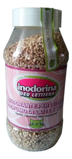 Inodorina Deo Lettiera Deodorante Per Lettiera Al Profumo Di Late eVanillia - Posypka ozapachu mleka zwanilią