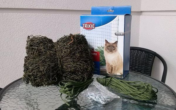 Jak zabezpieczyć siatką loggię dla kota?
