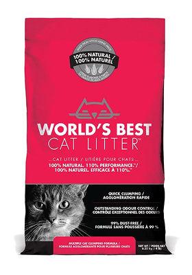 kukurydziany żwirek dla kotów, World's Best Litter Extra Strenght ozapachu naturalnym