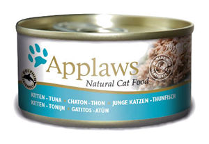 Mokra karma Applaws dla kociąt: Filet ztuńczyka; puszka 70g