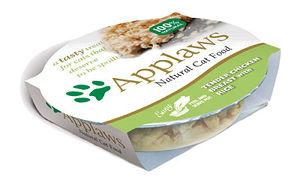 Mokra karma Applaws dla kotów: Delikatna Pierś zKurczaka zRyżem; miseczka 60g