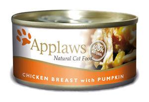 Mokra karma Applaws dla kotów: Pierś zKurczaka zDynią; puszka 70g