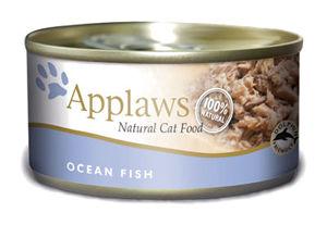 Mokra karma Applaws dla kotów: Ryby Oceaniczne; puszka 70g