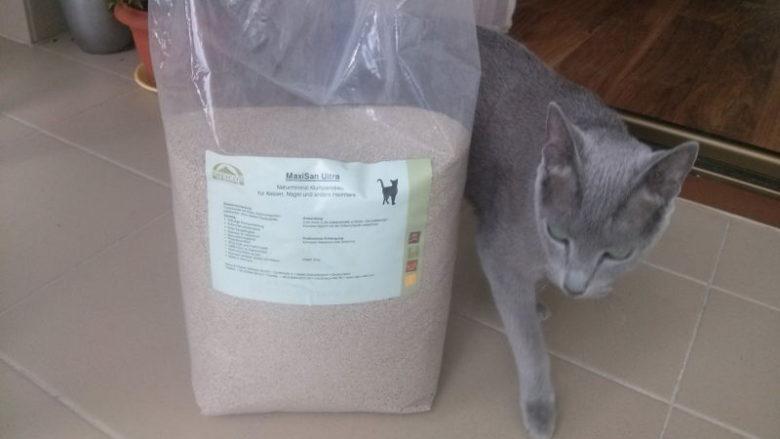 Mineralny żwirek MaxiSan Ultra dla kotów