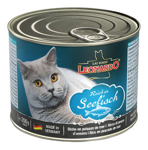 Mokra karma Leonardo Quality Selection Reich in Seefisch