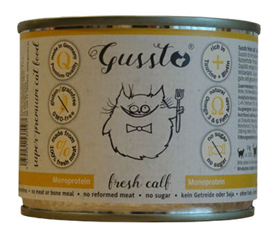 Mokra karma Gussto Fresh Calf