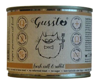 Mokra karma Gussto Fresh Calf & Rabbit