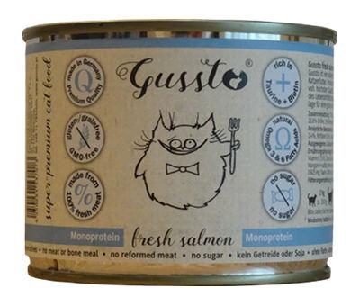Mokra karma Gussto Fresh Salmon