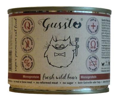 Mokra karma Gussto Fresh Wild Boar