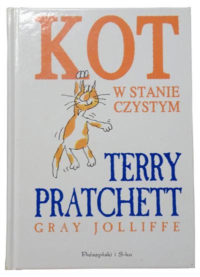 """Terry Pratchett, Gray Jolliffe """"Kot wstanie czystym"""" – Okotach zprzymrużeniem oka"""