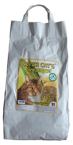 Kukurydziany żwirek Super Cat's Corn Compact dla kotów