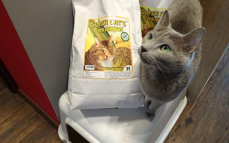 Kukurydziany żwirek Super Cat's Corn dla kotów