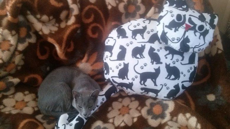 """""""Kocie"""" poduszki dla kotów i ludzi oraz inne wyroby ART EM Rękodzieło"""