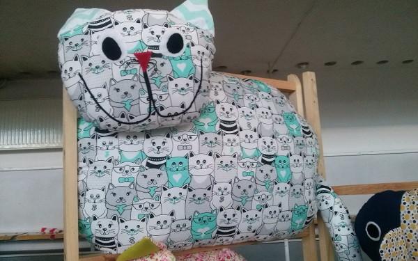"""""""Kocie"""" poduszki dla kotów iludzi orazinne wyroby ART EM Rękodzieło"""