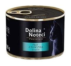 Mokra karma dla kotów dorosłych Dolina Noteci Premium filet ztuńczyka wsosie – puszka 185g