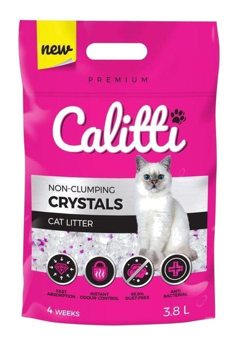 Silikonowy żwirek Calitti Crystals dla kotów