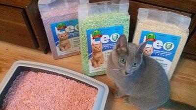 Roślinny żwirek Leo dla kotów